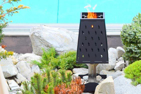 Pelmondo Fire Lamp